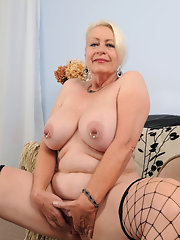 Mature tits 60 years old