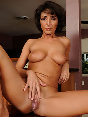 Kim bates strips naked plays with new toy 1