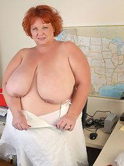 image Hot wife light dildo fuck gp